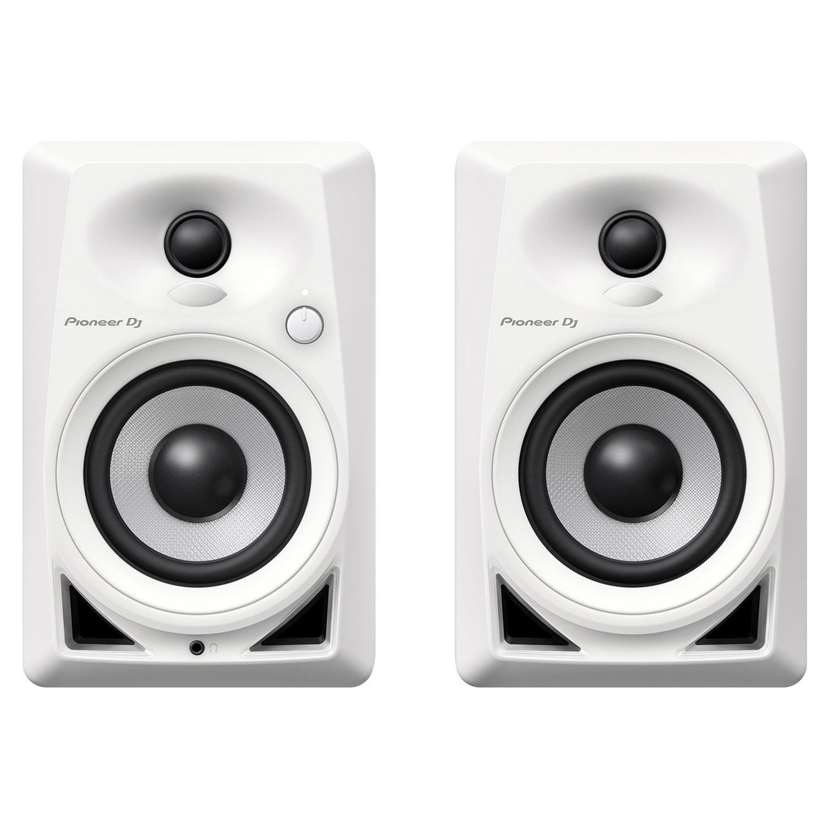 "Pioneer: DM-40-W 4"" Desktop Monitor Speakers - White (Pair)"