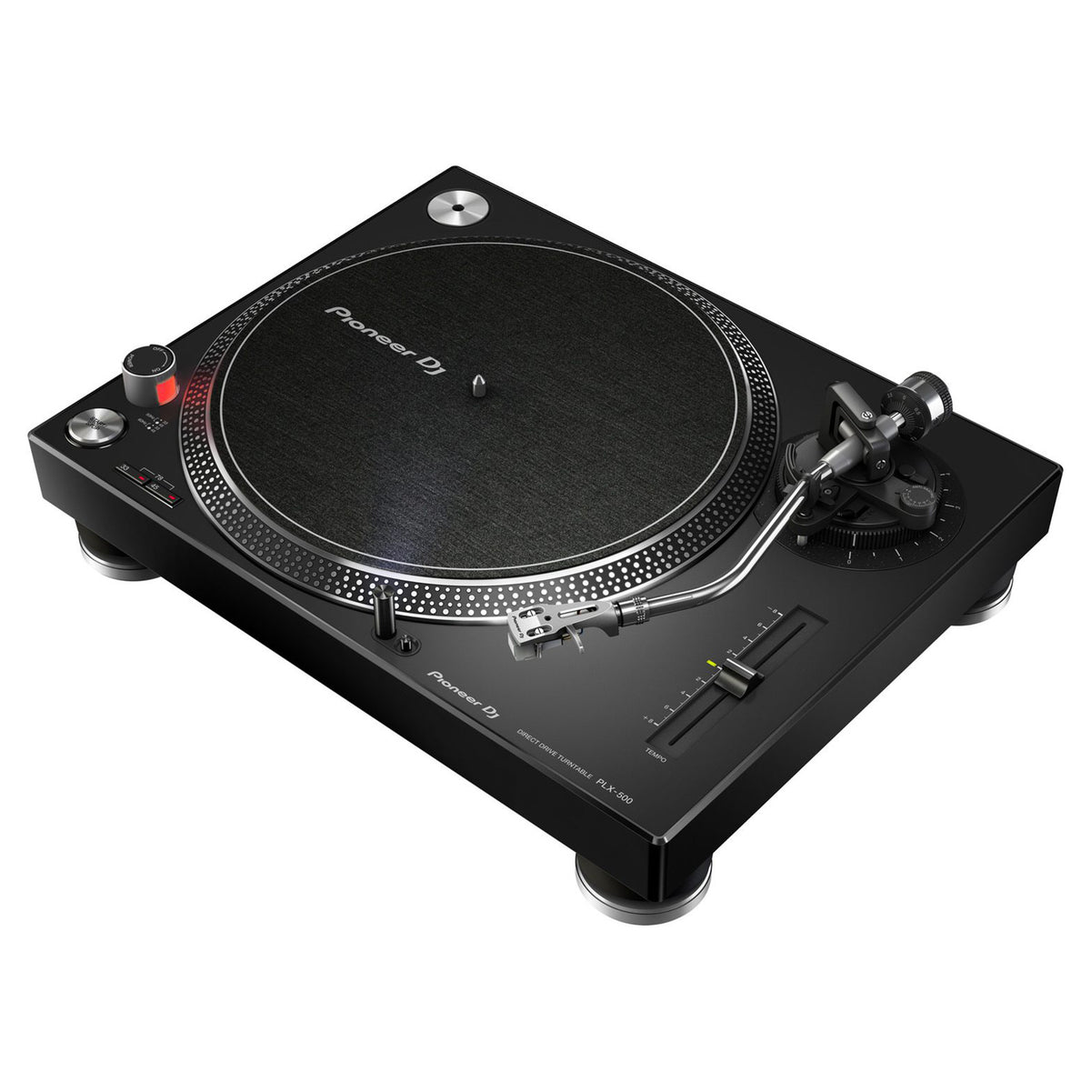 Pioneer plx 500 direct drive usb turntable black for Direct drive turntable motor