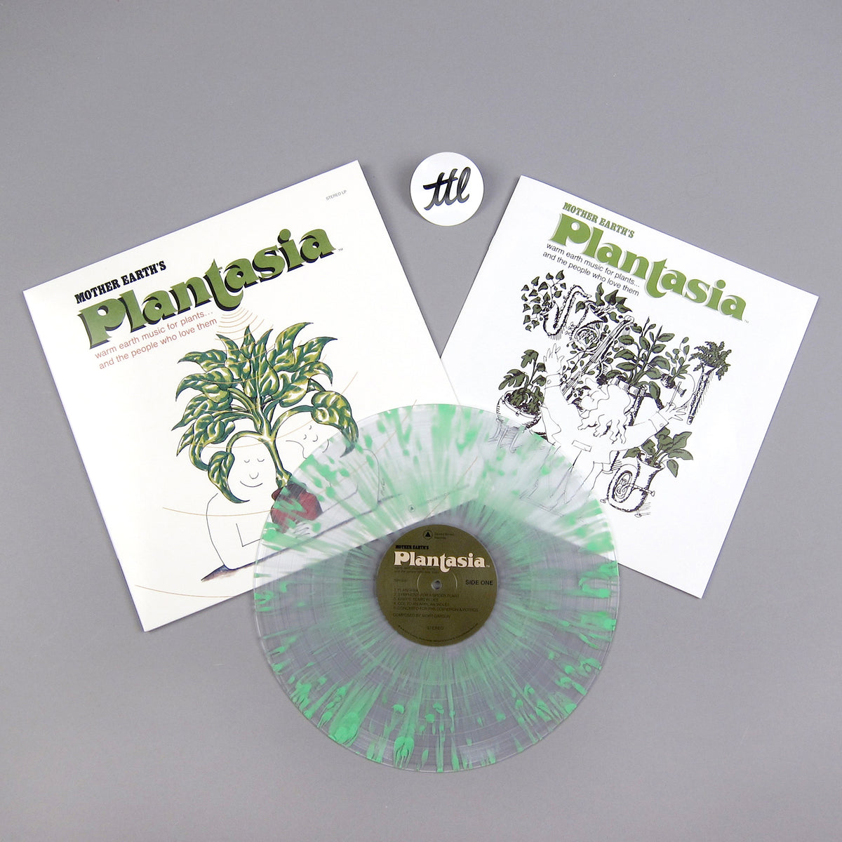 Mort Garson: Mother Earth's Plantasia (Chlorophyll Splatter Colored Vinyl) Vinyl LP - Turntable Lab Exclusive