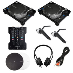 Pioneer: Complete Mix DJ Turntable Package