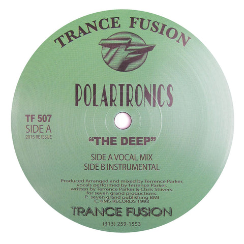 Polartronics: The Deep (Terrence Parker) Vinyl 12""