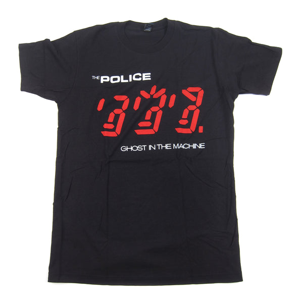 The Police: Ghost In The Machine Shirt - Black