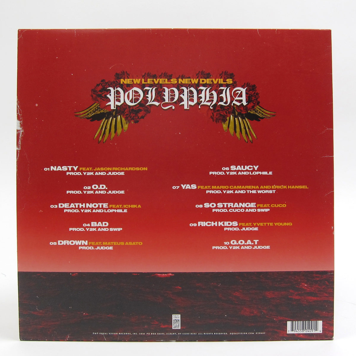 Polyphia: New Levels New Devils (Indie Exclusive Colored Vinyl) Vinyl LP