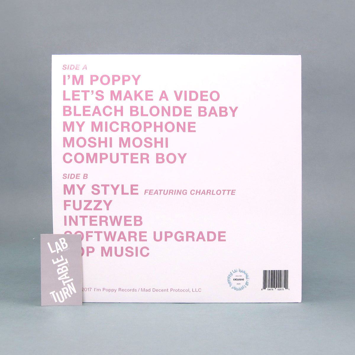 Poppy: Poppy.Computer (Colored Vinyl) Vinyl LP - Turntable Lab Exclusive