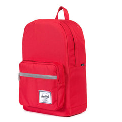 Herschel Supply Co.: Pop Quiz Backpack - Red / 3M Rubber