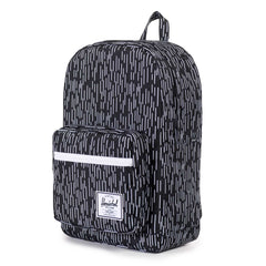 Herschel Supply Co.: Pop Quiz Backpack - Black / White Rain Camo
