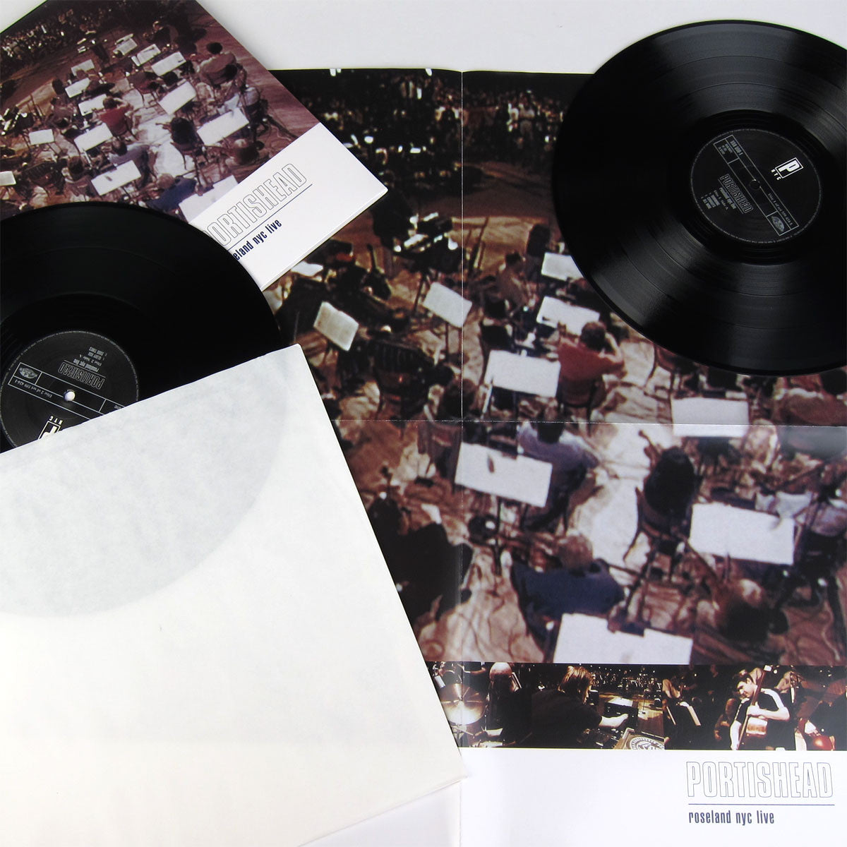 Portishead: Roseland NYC Live 2LP detail