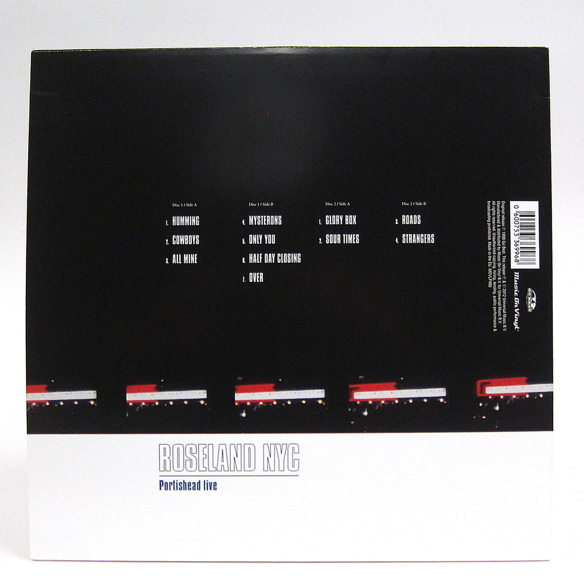 Portishead: Roseland NYC Live (Music On Vinyl 180g) Vinyl 2LP