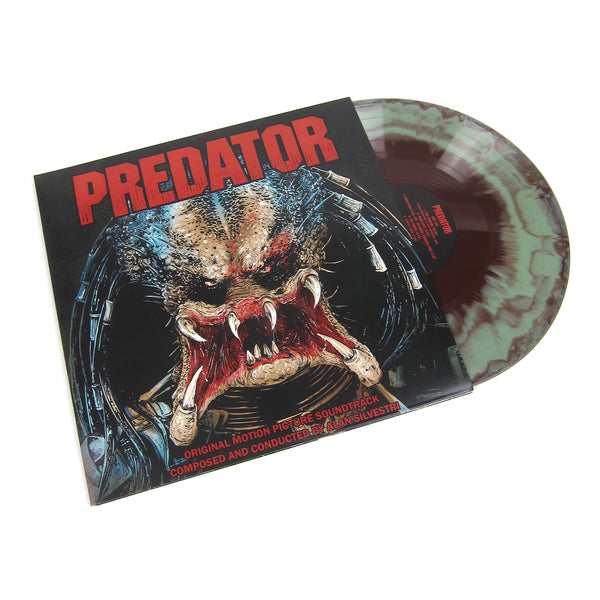 Alan Silvestri: Predator Soundtrack (Colored Vinyl) Vinyl 2LP