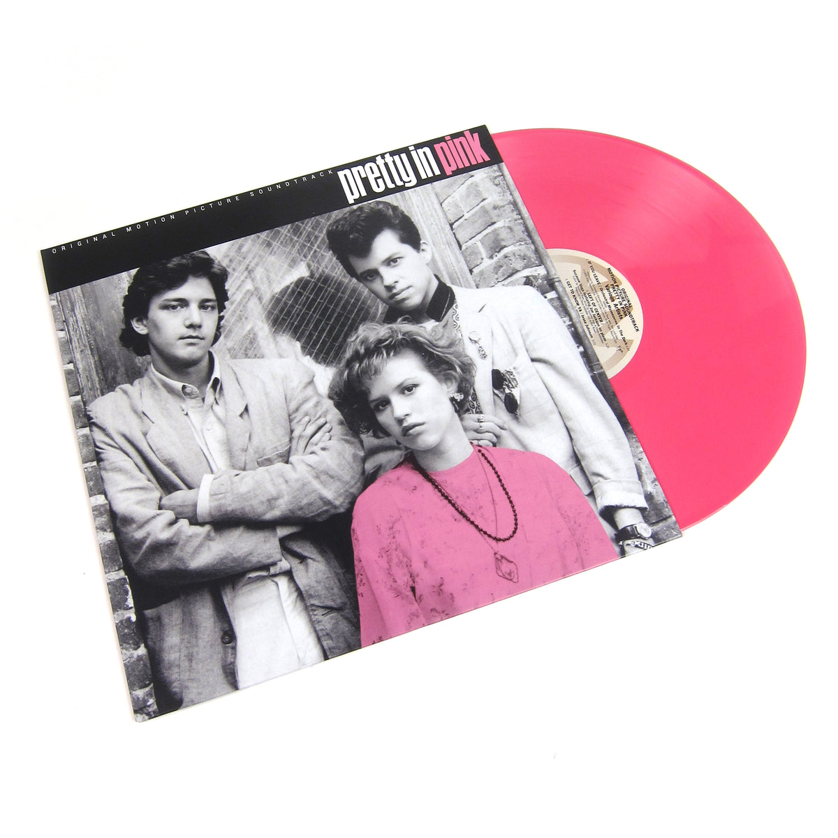 John Hughes: Pretty in Pink OST (Colored Vinyl) Vinyl LP