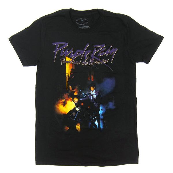 Prince: Purple Rain Shirt - Black