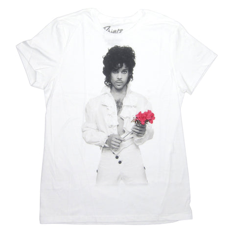 Prince: Flower Shirt - White