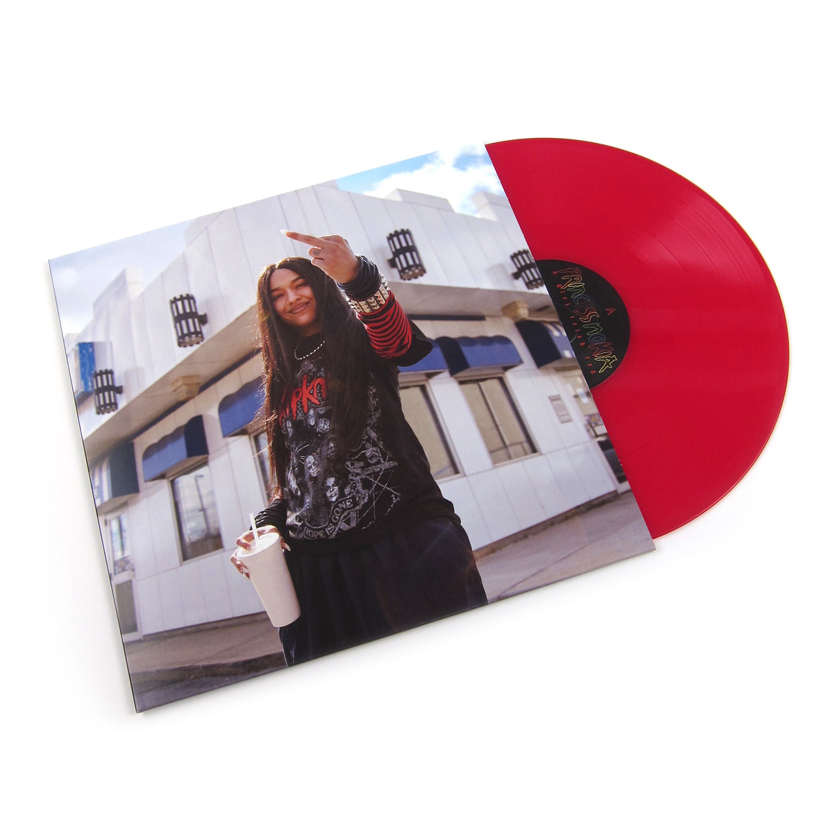 Princess Nokia: A Girl Cried Red (Colored Vinyl) Vinyl LP