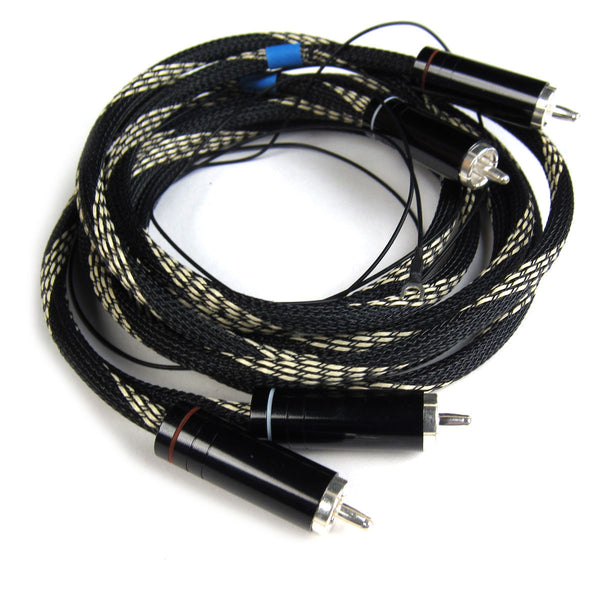 Pro-Ject: Connect It RCA Phono Interconnect Cable (4 ft / 1.2m)