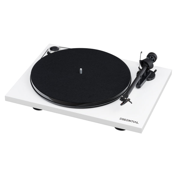 Pro-Ject: Essential III Turntable / Phono - White