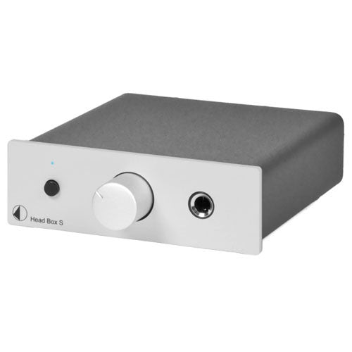 Pro-Ject: Head Box S Headphone Amp - Silver