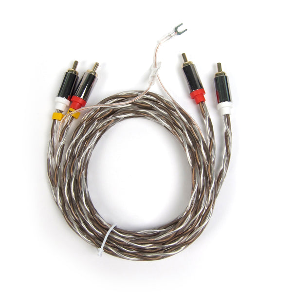 Pro Ject: Connect It E RCA To RCA Phono Interconnect Cable   1.23M