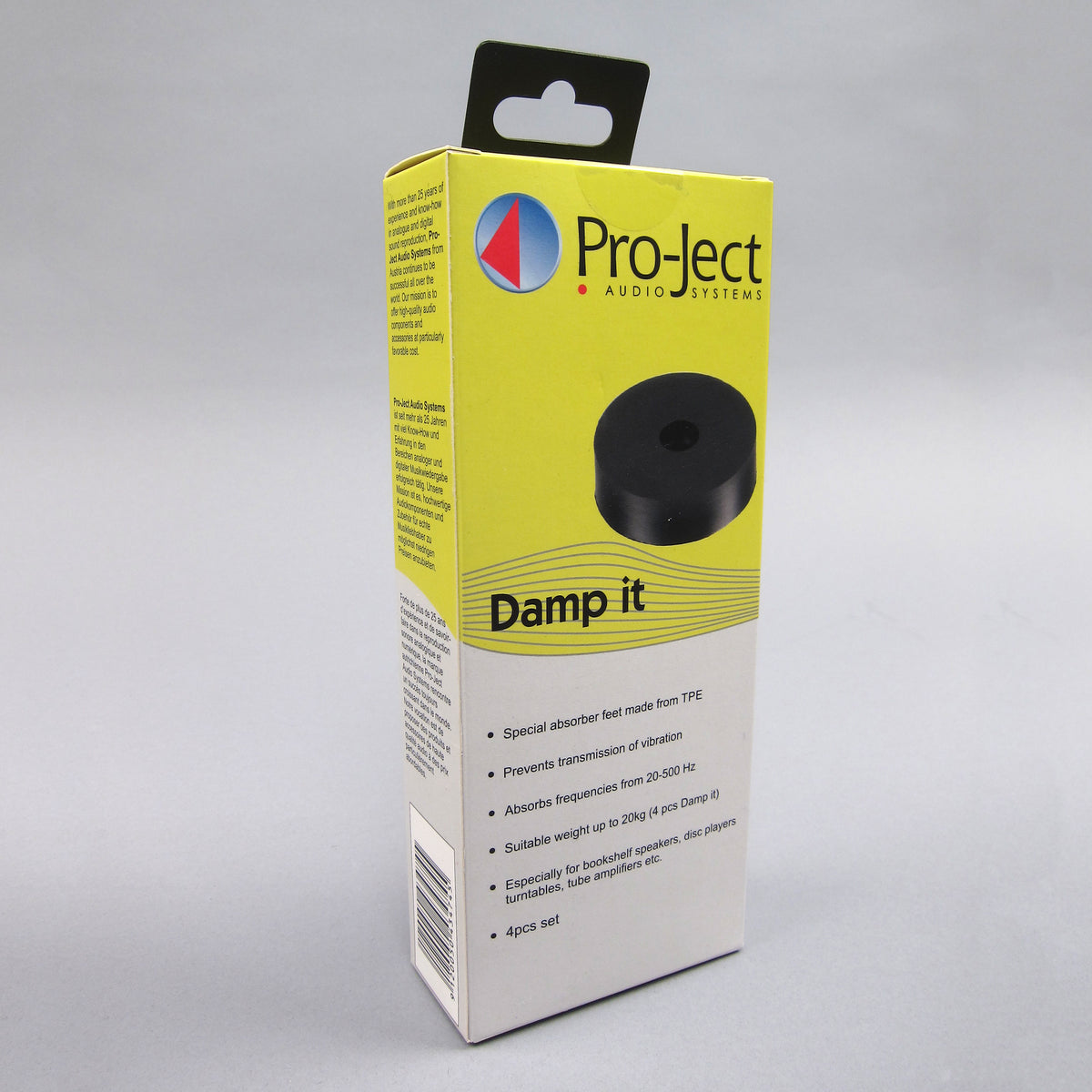 Pro-Ject: Damp It TPE Damping Feet (Set of 4)