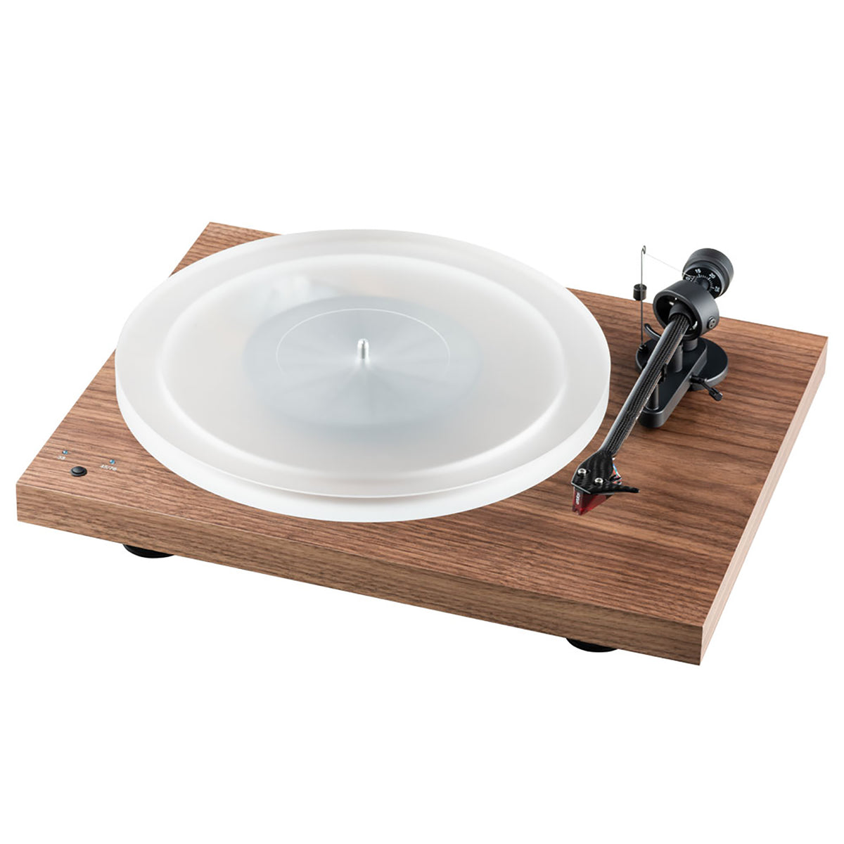 Pro-Ject: Debut Carbon RecordMaster HiRes (2M Red) - Walnut