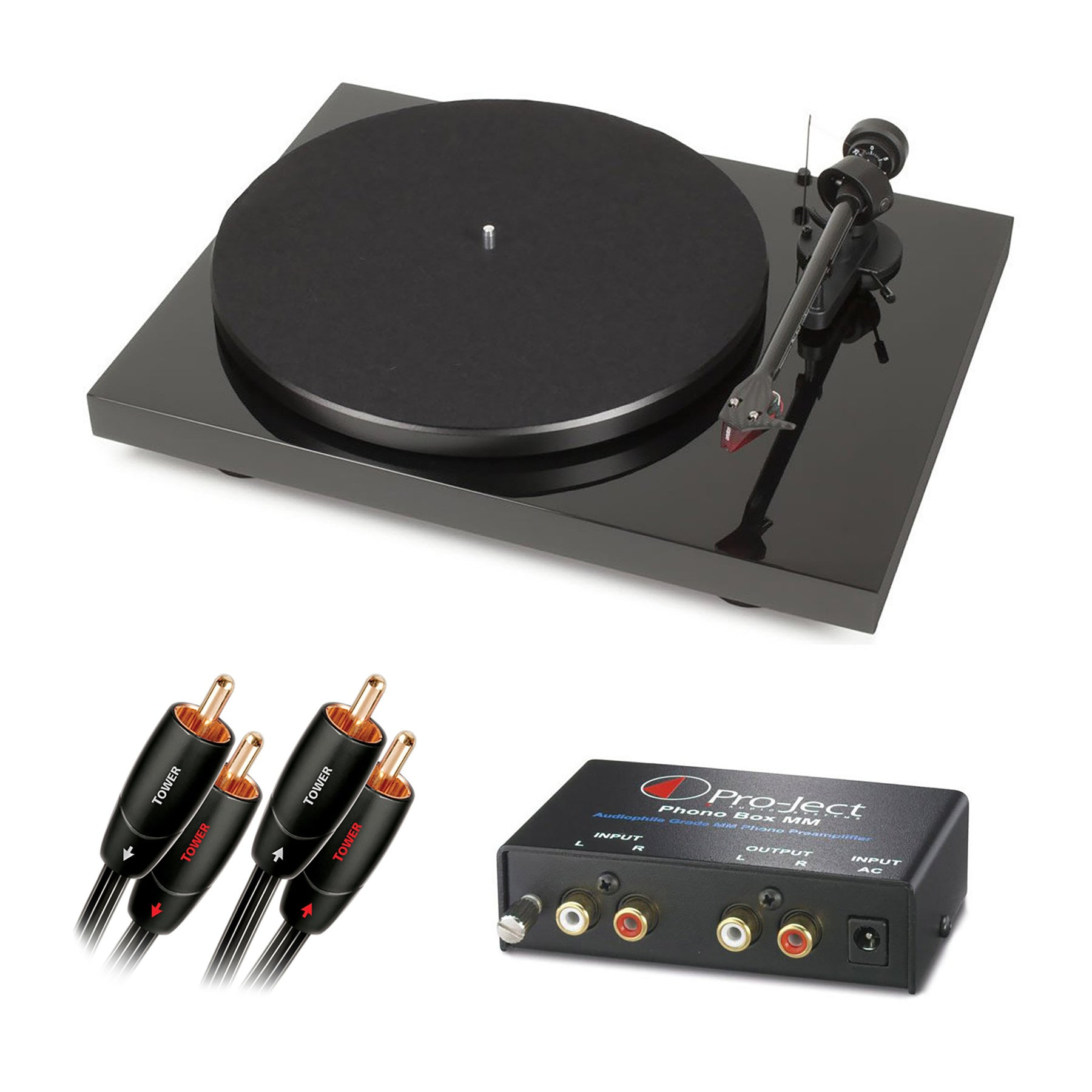 Pro-Ject: Debut Carbon DC Turntable + Phono Box MM Pre