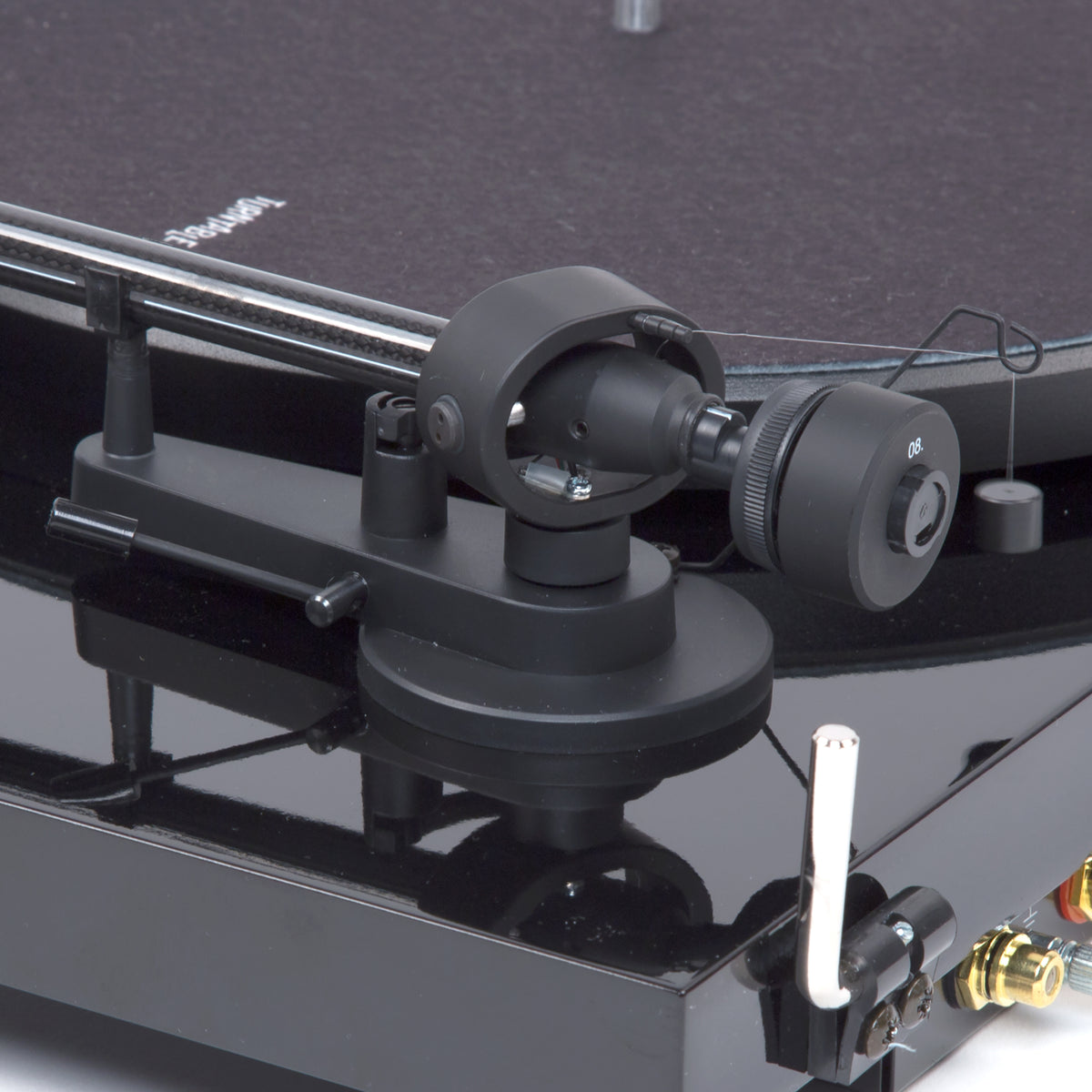 Pro-Ject: Debut Carbon DC Turntable - Gloss Black tone arm