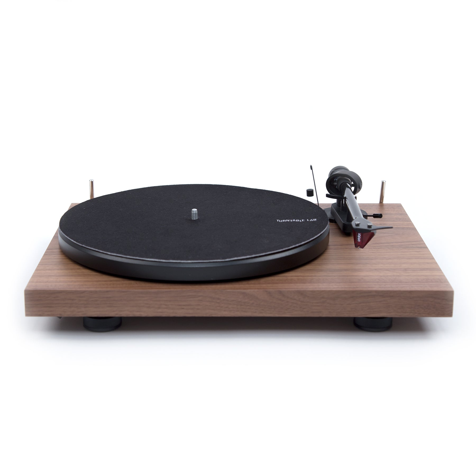 Pro Ject: Debut Carbon DC Turntable Walnut – TurntableLab