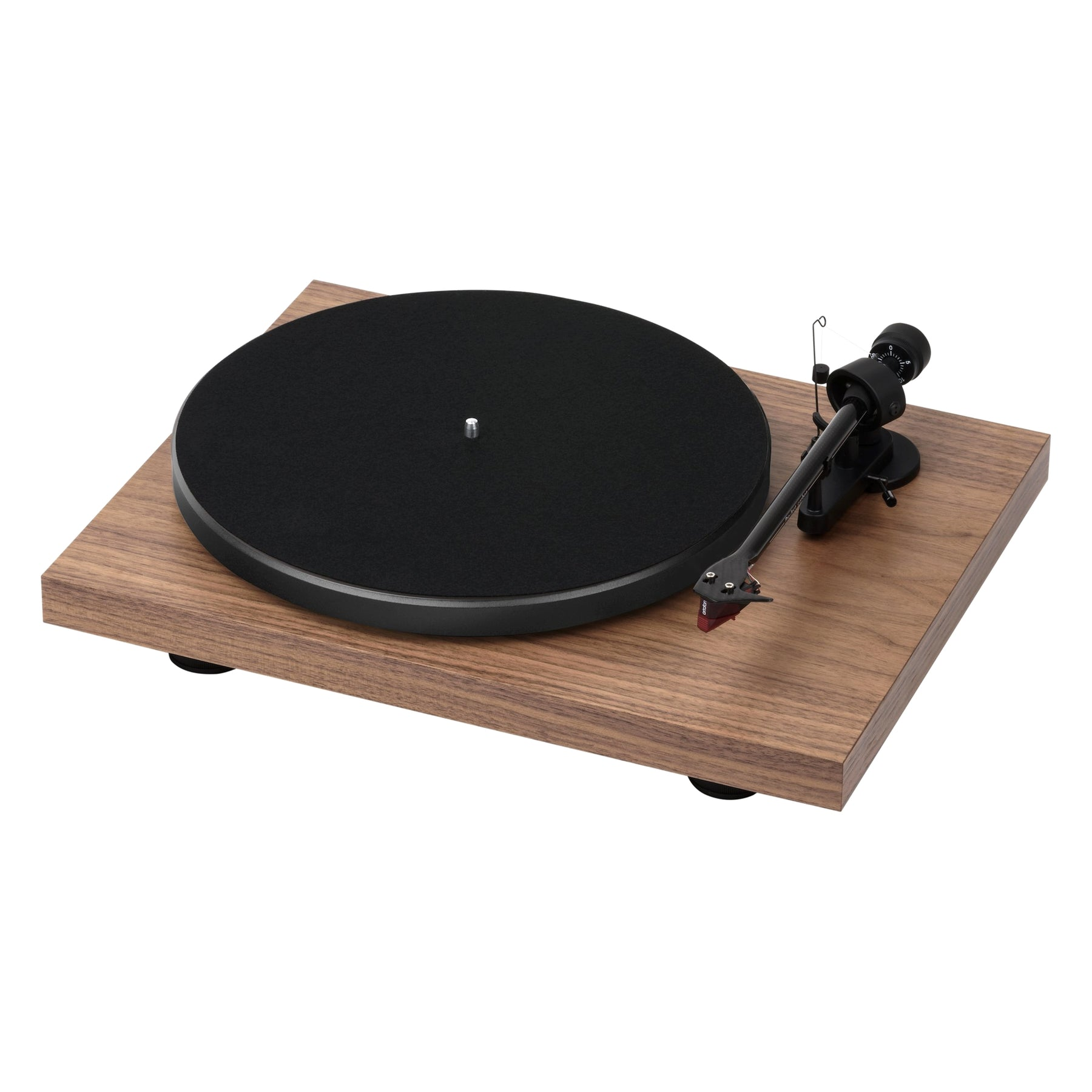 Pro Ject: Debut Carbon DC Turntable Walnut –