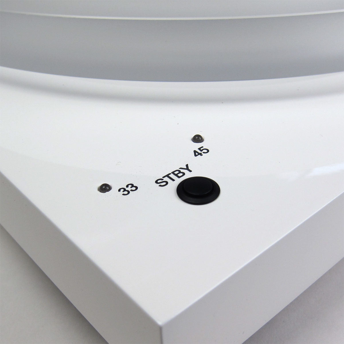Pro-Ject: Debut Carbon DC Esprit SB Turntable - White speed