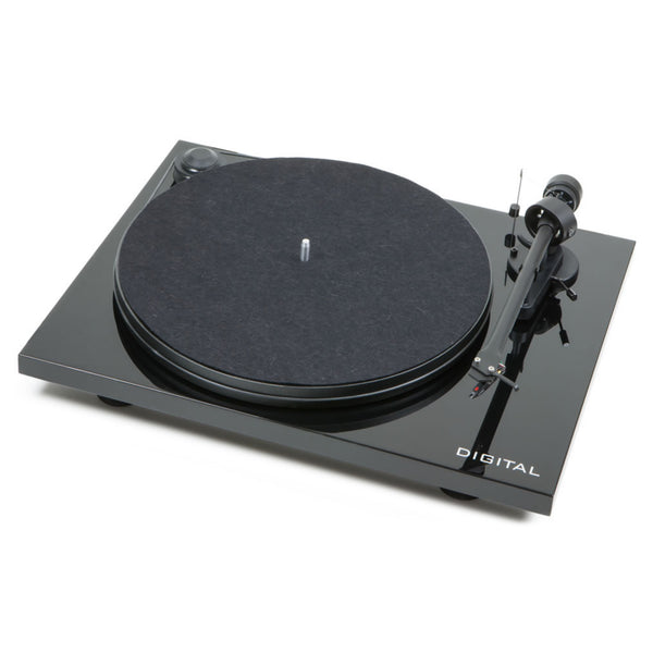 Pro-Ject: Essential II DIGITAL Turntable - Black