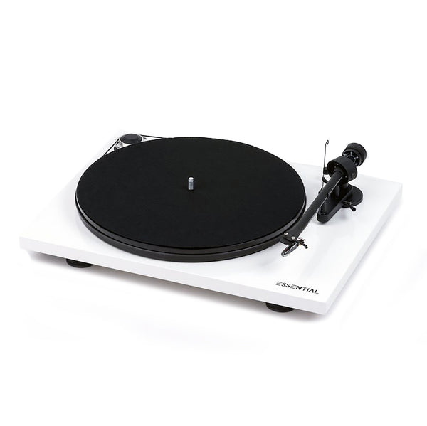 Pro-Ject: Essential III Turntable - White
