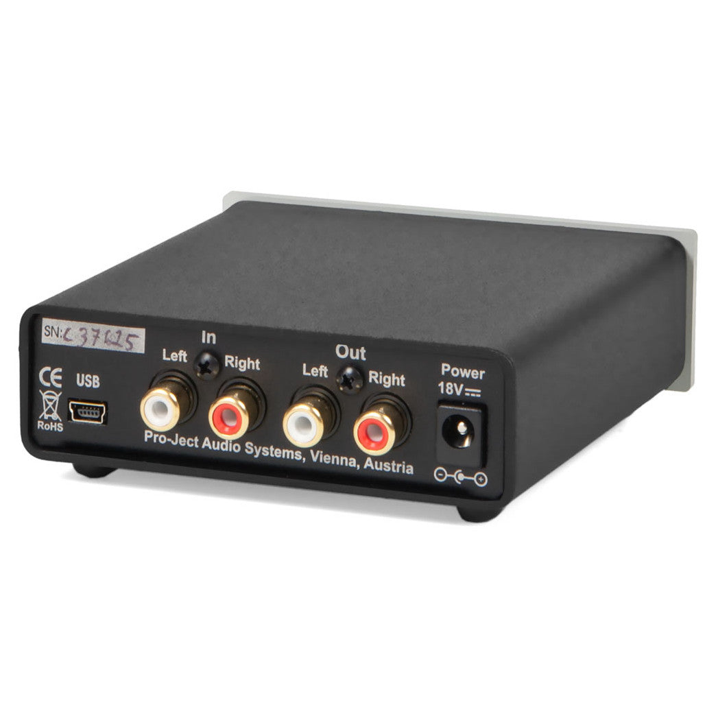 Pro-Ject: Head Box S USB Headphone Amp - Black
