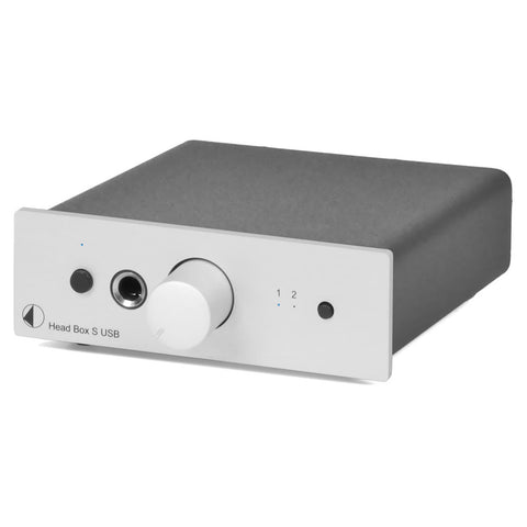 Pro-Ject: Head Box S USB Headphone Amp - Silver