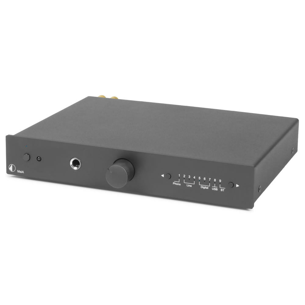 Pro-Ject: Stereo Box S MaiA Integrated Amplifier + Bluetooth - Black