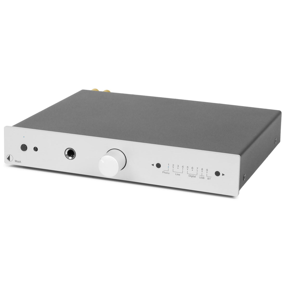 Pro-Ject: Stereo Box S MaiA Integrated Amplifier + Bluetooth - Silver