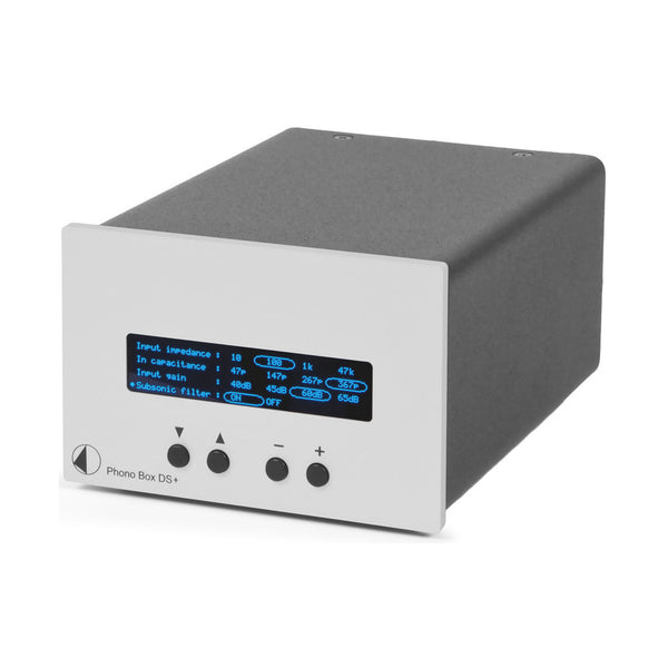 Pro-Ject: Phono Box DS+ Phono Preamp - Silver