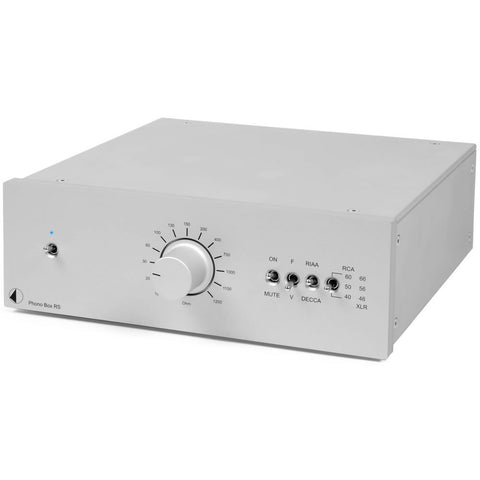 Pro-Ject: Phono Box RS Pre-Amp - Silver
