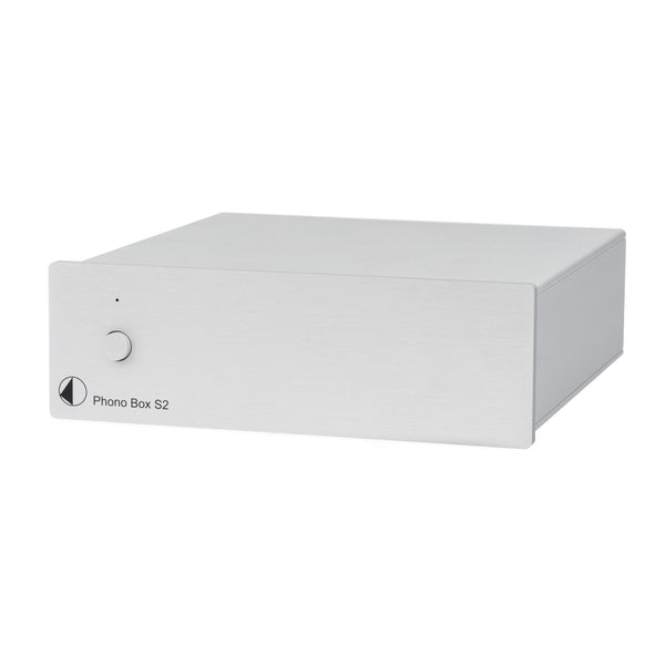 Pro-Ject: Phono Box S2 Phono Preamp - Silver