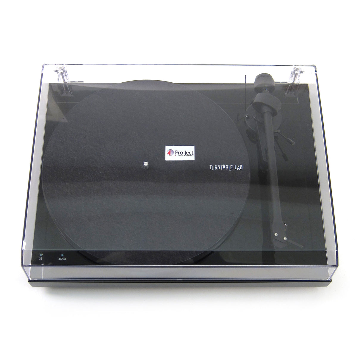 Pro-Ject: Debut III RecordMaster USB Turntable (OM10) - Black