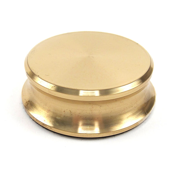 Pro-Ject: Record Puck Record Stablizer - Polished Brass