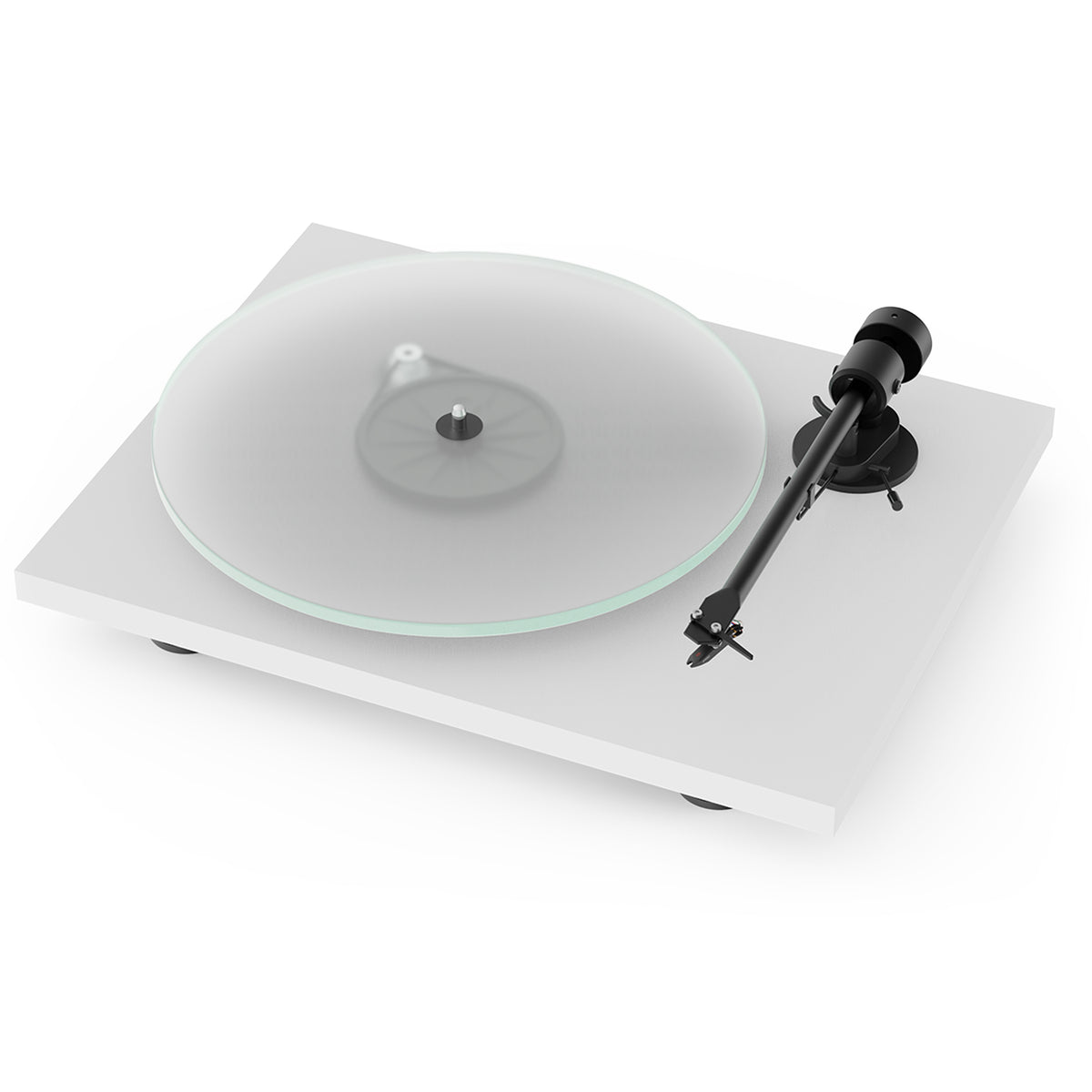 Pro-Ject: T1 Turntable - Satin White