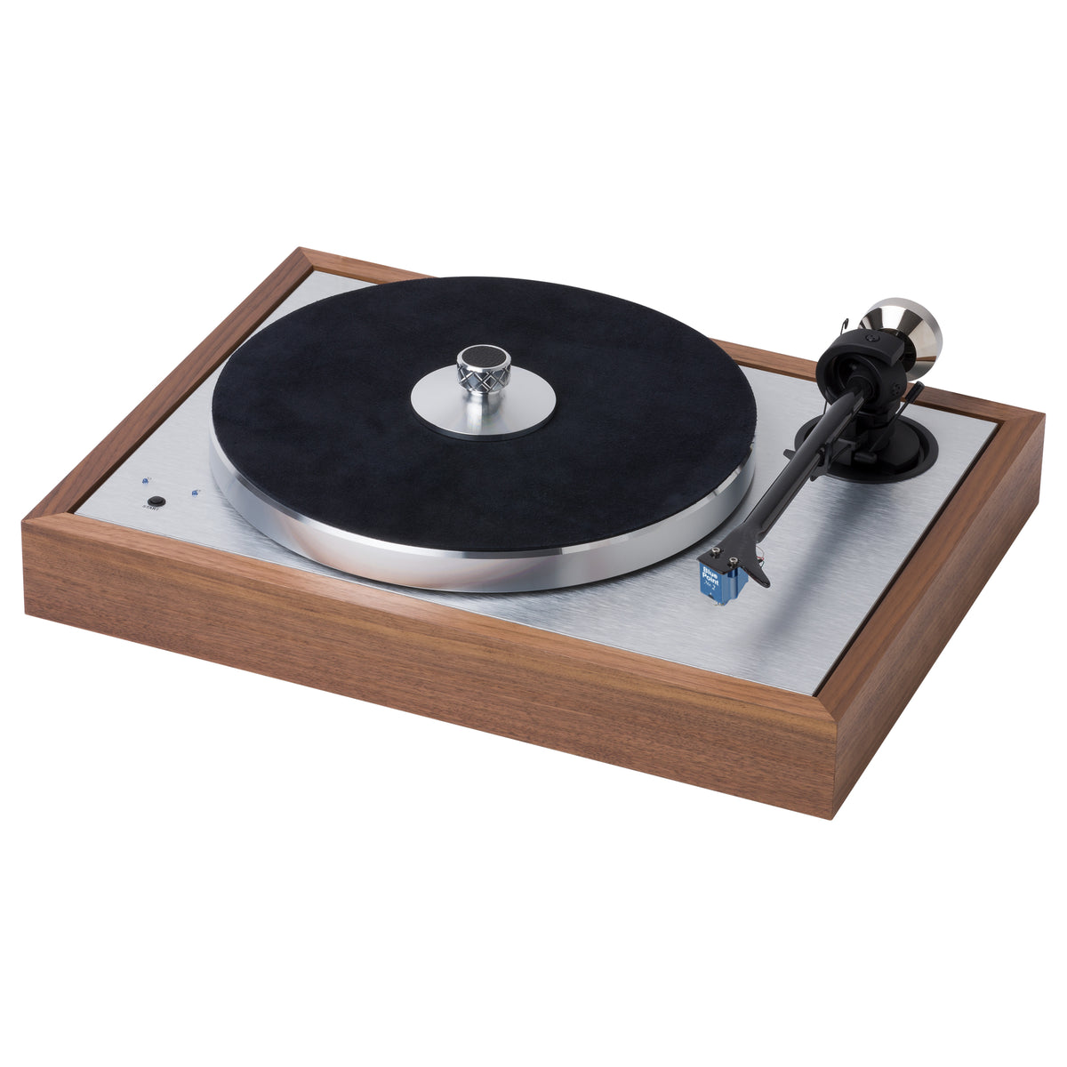 Pro-Ject: The Classic SB Turntable (Blue Point No.2) - Walnut