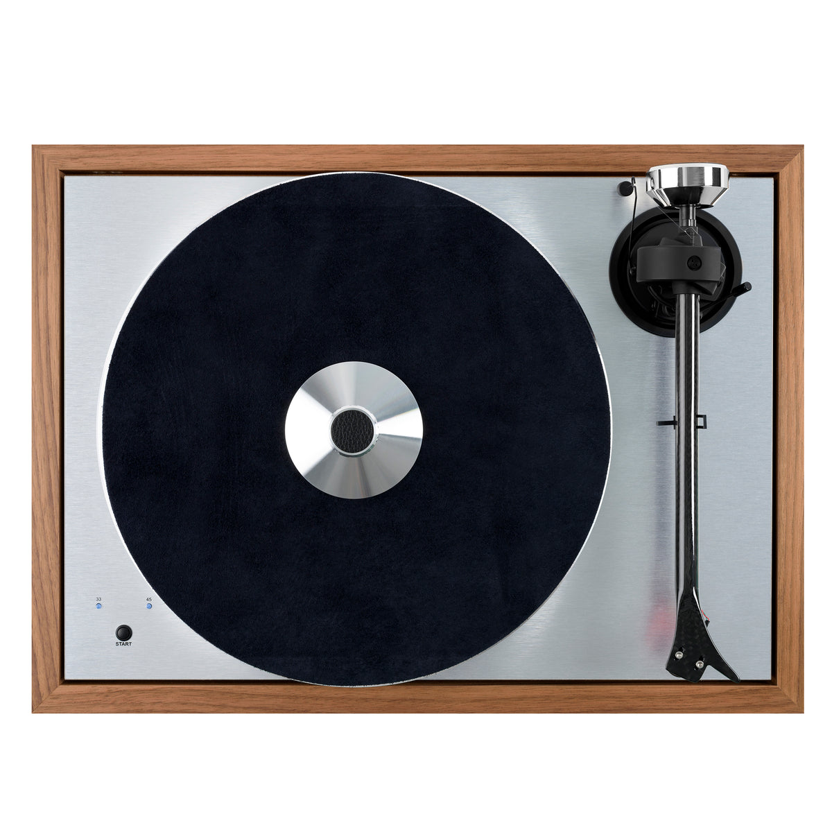 Pro-Ject: The Classic SB Turntable (Blue Point No.2) - Rosenut