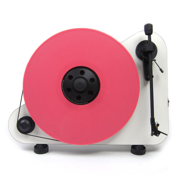 Pro-Ject: Vertical Turntable Right - White (VT-E R)