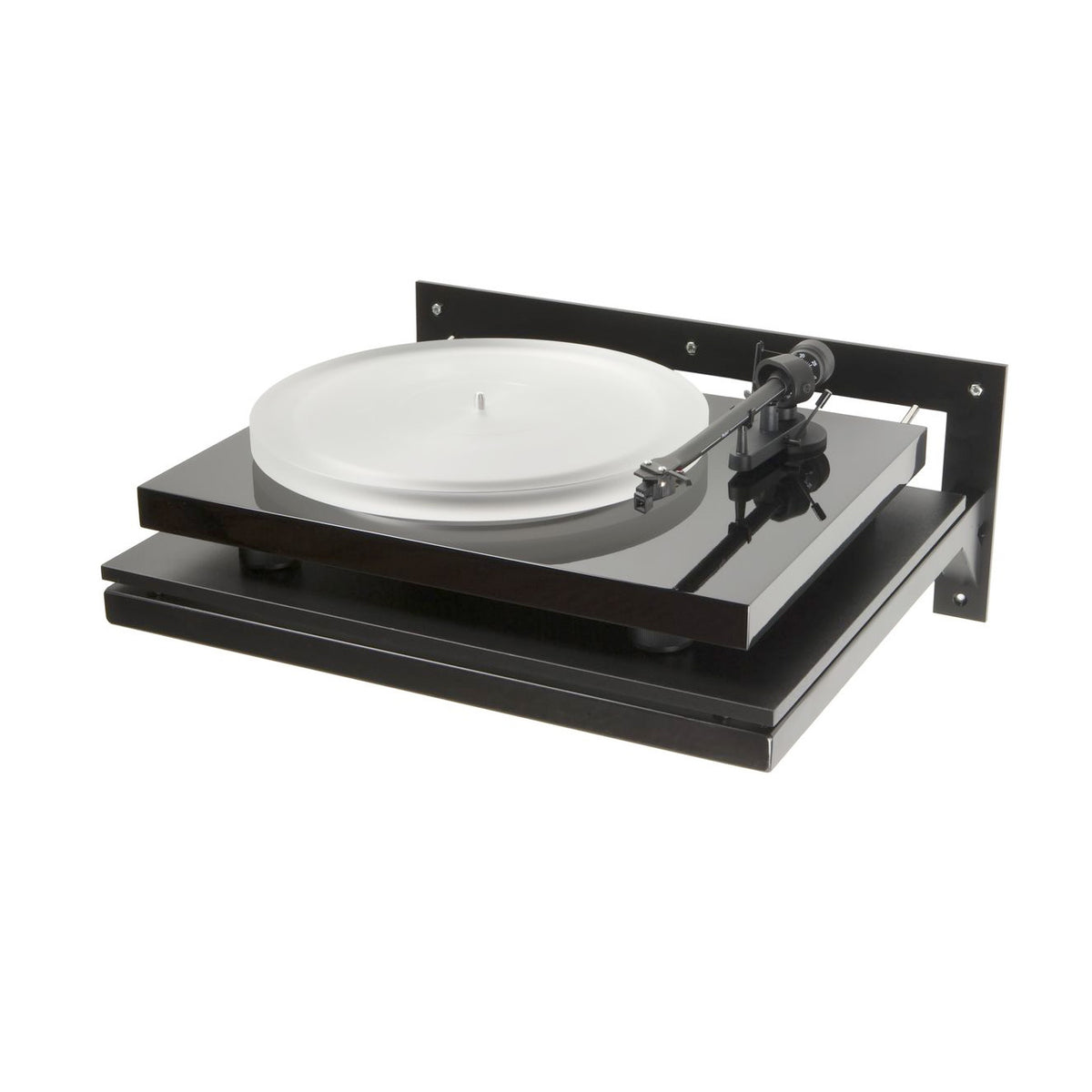 Pro-Ject: Wallmount It 1 Turntable Shelf with Turntable