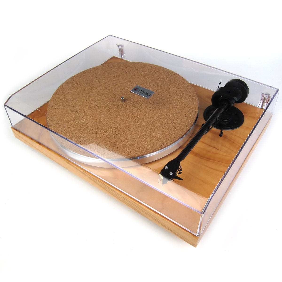 Pro-Ject: 1-Xpression Carbon Classic - Olive (Pearl) dust closed
