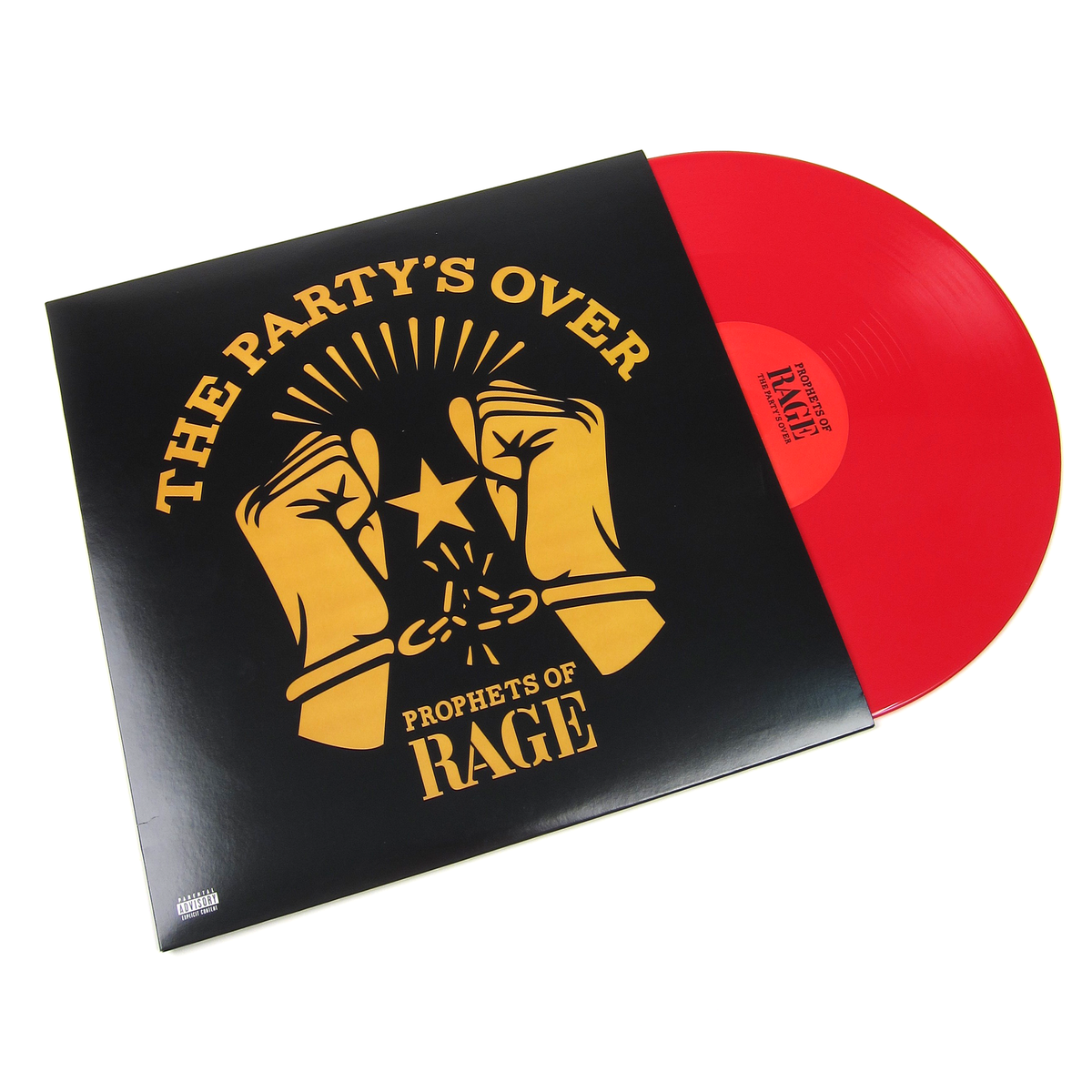 Prophets Of Rage: The Party's Over (Rage Against The Machine, Colored Vinyl) Vinyl LP (Record Store Day)