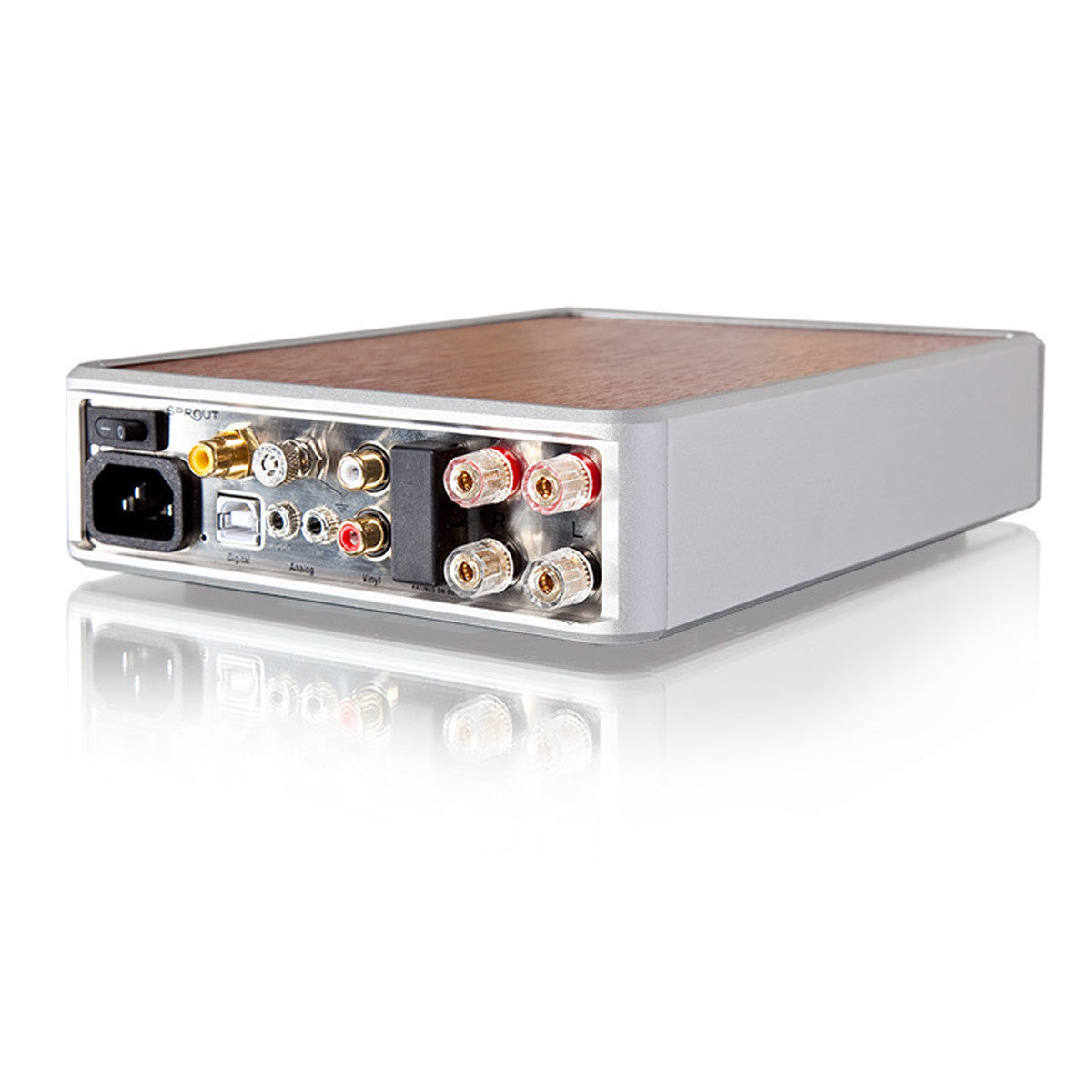 PS Audio: Sprout Integrated Amplifier - Amp, Phono Pre-Amp, DAC, Bluetooth back