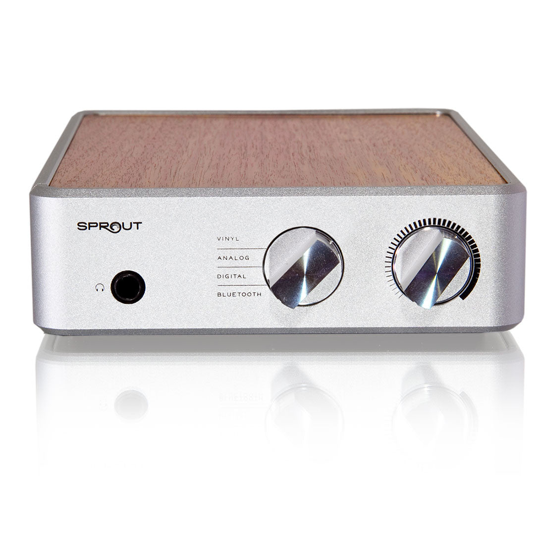 PS Audio: Sprout Integrated Amplifier - Amp, Phono Pre-Amp, DAC, Bluetooth front