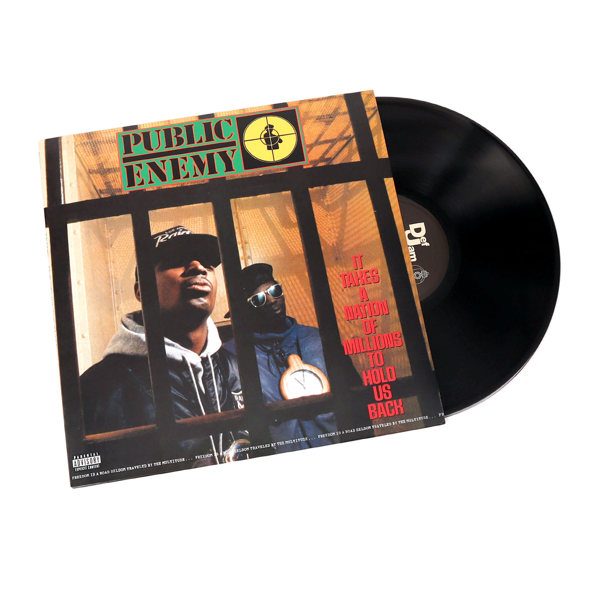 Public Enemy: It Takes A Nation Of Millions To Hold Us Back (189g) Vinyl