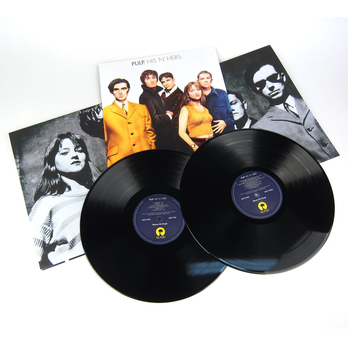 Pulp: His 'N' Hers Deluxe Edition (180g) Vinyl 2LP